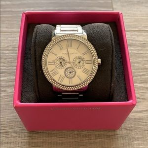 Vince Camuto Silver Watch.